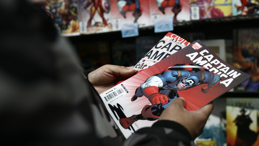 Captain America savages Trump in battle of the useful idiots