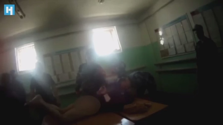 Six detained after graphic torture video from Russian jail goes viral