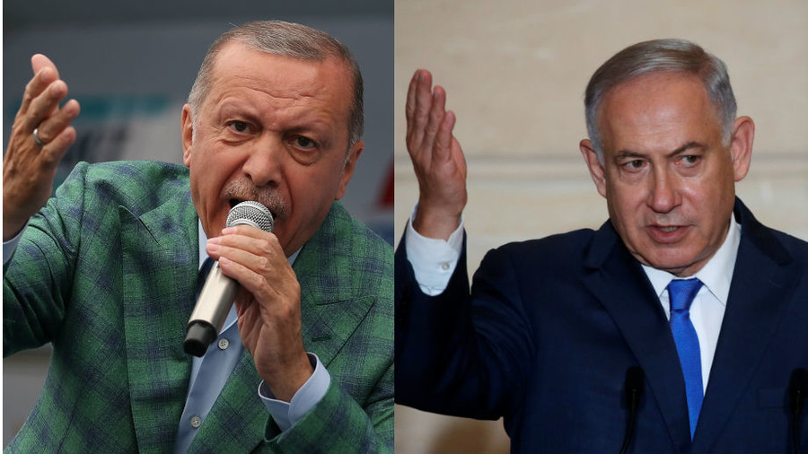 'Erdogan's dark dictatorship': Netanyahu hits back at Turkish leader's 'spirit of Hitler' jibe