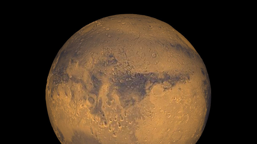 Life on Mars? Scientists discover underground 'lake' at south pole