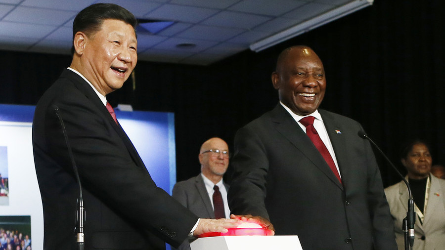China sees Trump's trade war as an opportunity to boost ties with Africa