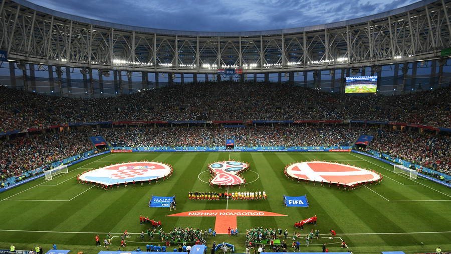 World Cup stadiums already showing promise in continuing Russia 2018 legacy (PHOTOS)