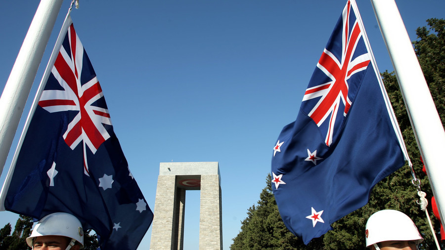 New Zealand's acting PM to Australia: Stop copying our flag