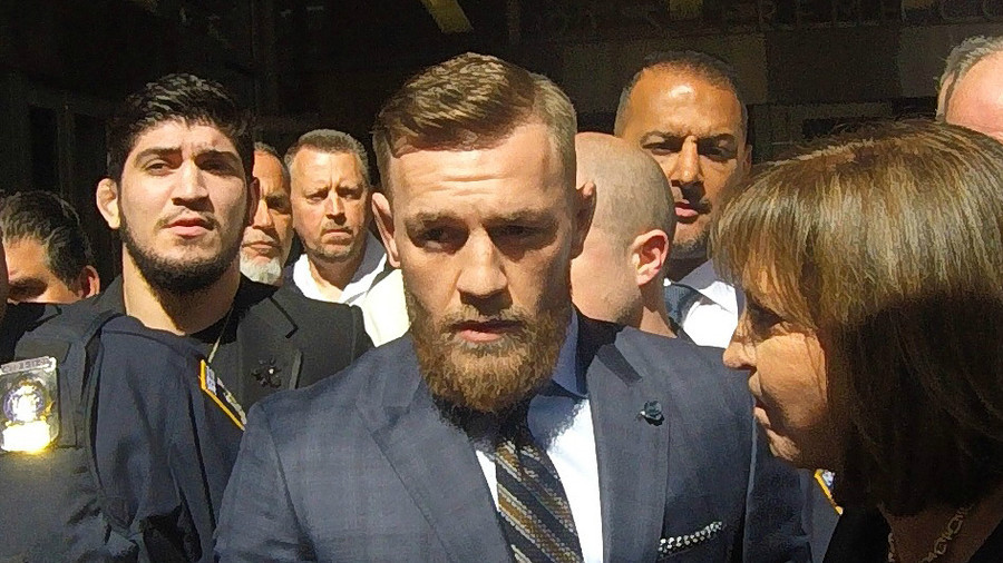 Bring his Irish team in November and finish our business' Khabib sets date for Mc Gregor showdown
