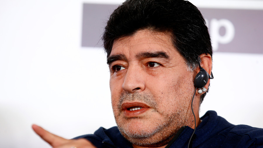 'He is the biggest coward in the world': Diego Maradona criticizes nephew in live TV rant