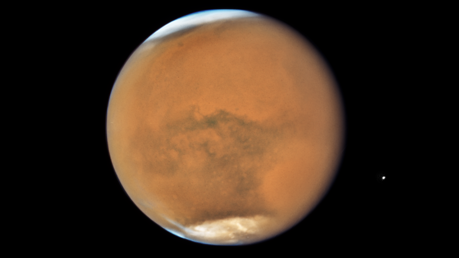 For Future Astronauts, It's A Good Thing Mars Gets This Close
