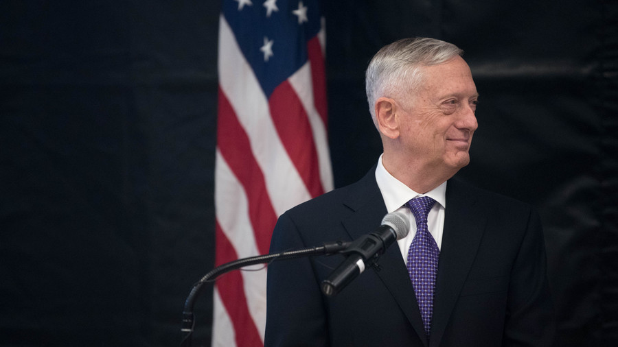 US not planning Iran regime change, Australian report is 'fiction' – Mattis