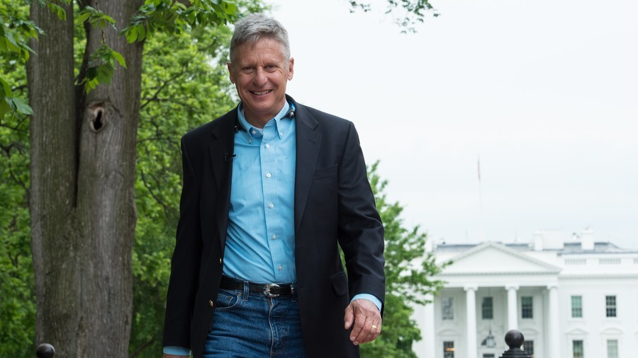Fmr New Mexico governor & Libertarian presidential candidate Johnson mulls running for US Senate