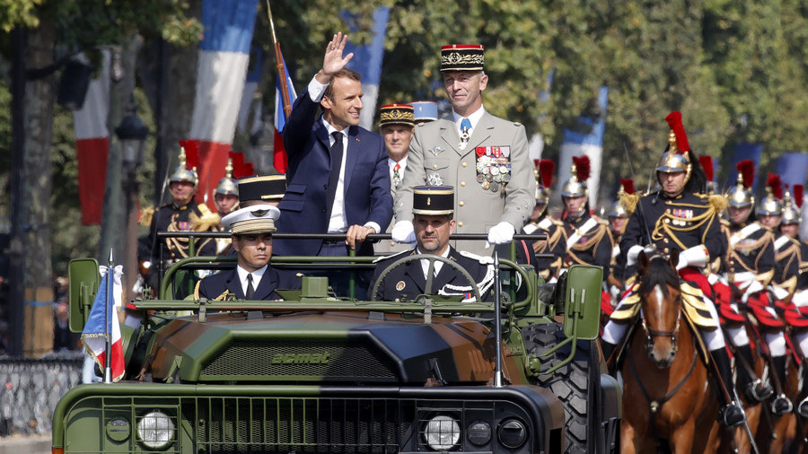 Macron greenlights military budget boost, but what is he aiming for?