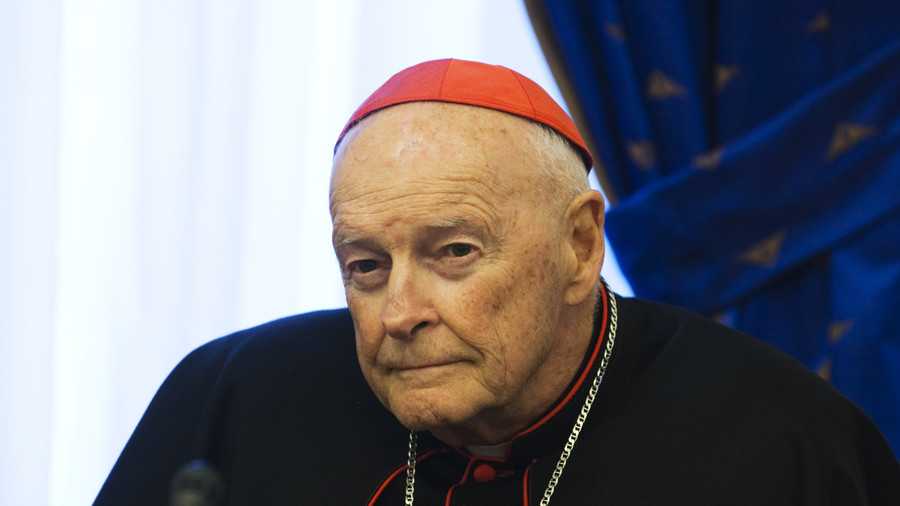 U.S. prelate McCarrick resigns from College of Cardinals