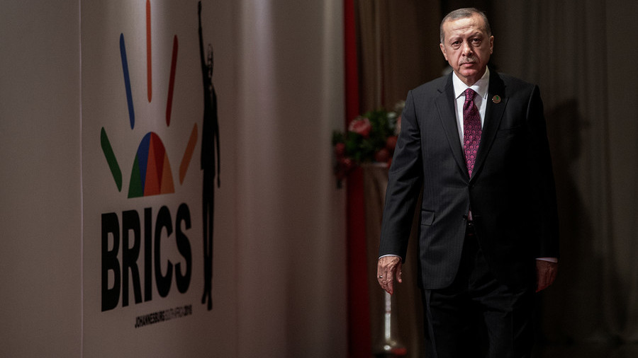 Talk Turkey Erdogan suggests adding 'T' to BRICS