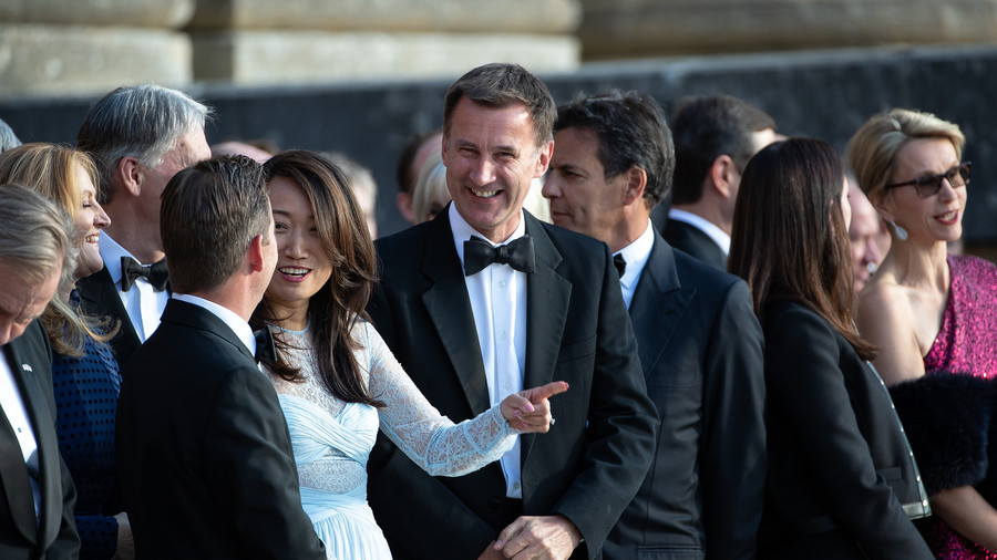 Jeremy Hunt's 'terrible' gaffe about his wife during China visit