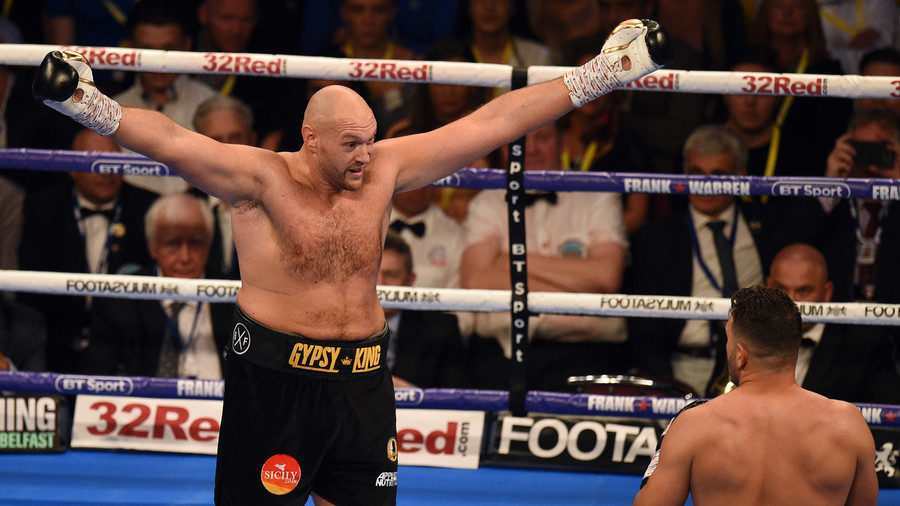 Deal to fight Wilder in December 'almost done', says Tyson Fury