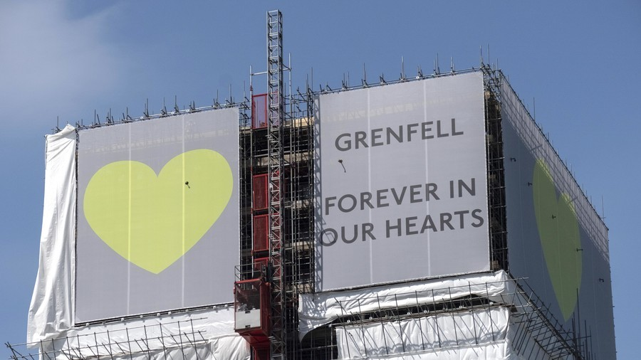 'Insult to Grenfell victims': Fire survivor slams plans to return burnt-out tower to council