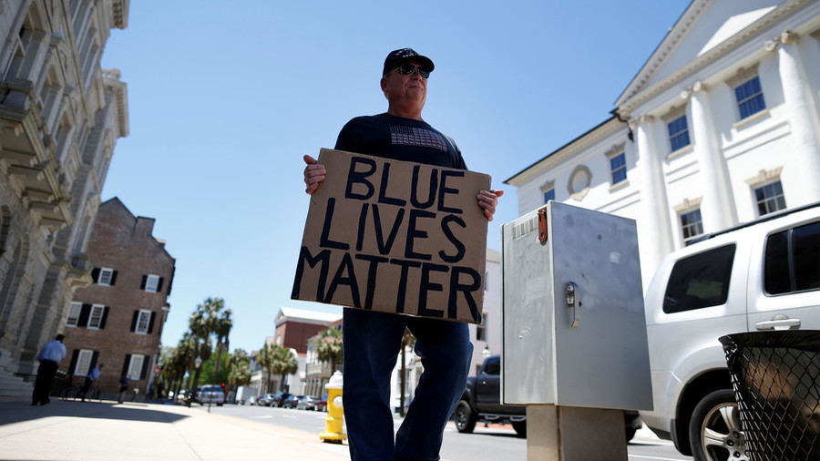 Blue Lives Matter claims Facebook's 'fake news' rules have halved its audience