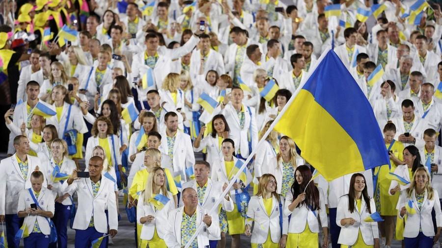 Ukrainian athlete slapped with 6-month ban for criticizing team kit