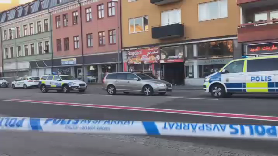 4 injured in shooting & stabbing in Sweden's Helsingborg (VIDEO)