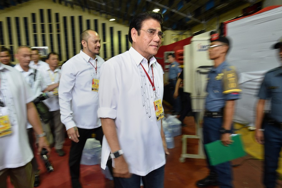 Drug war 'walk of shame' mayor shot dead by sniper during Philippines flag ceremony