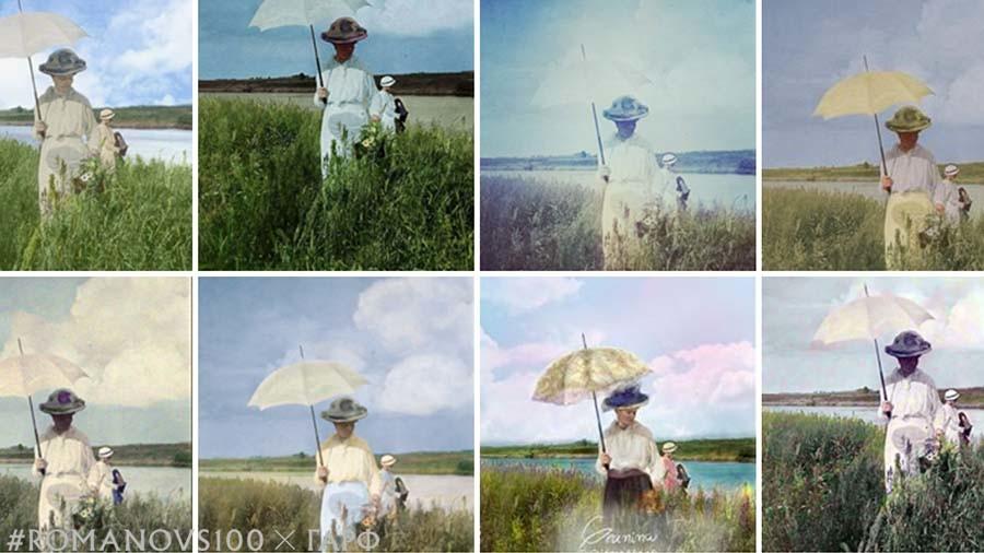 #Romanovs100 colorization contest final week, Marina Amaral to announce winner soon (PHOTOS)