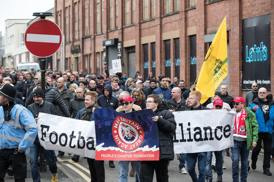 'Racist' Football Lads Alliance must be tackled 'head on' – Unite leader McCluskey