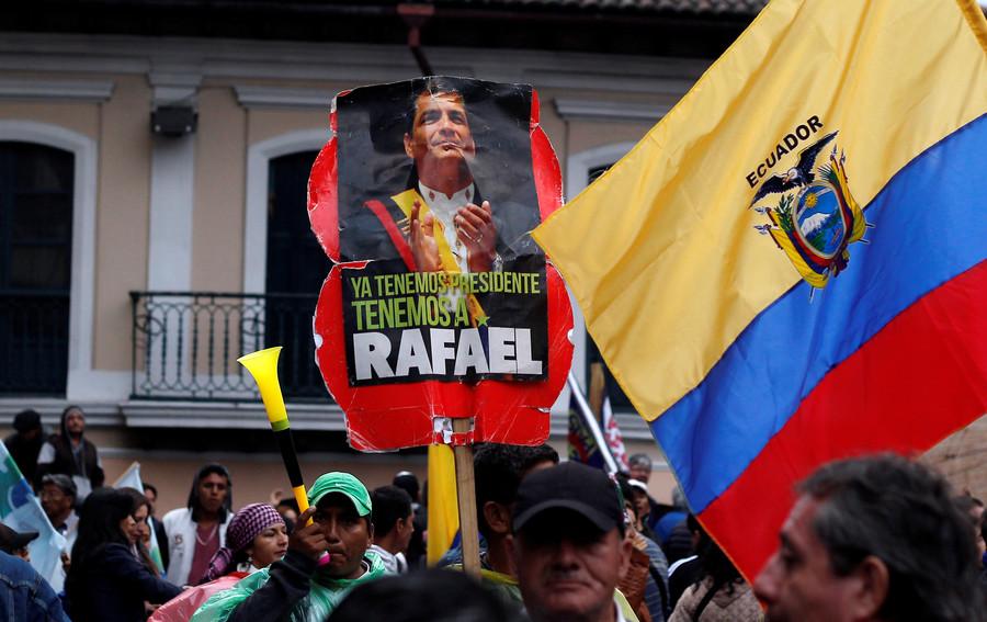 Ecuador judge orders arrest of ex-president Rafael Correa