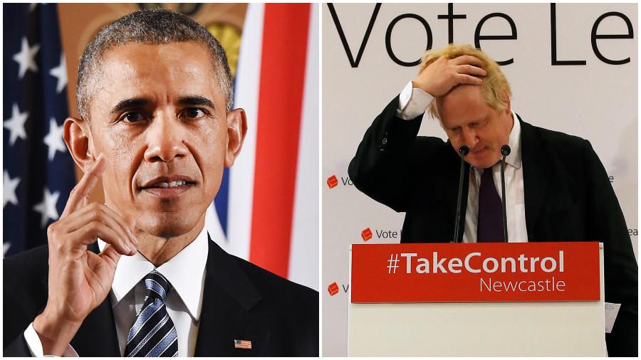 Boris is the 'British Trump': Obama's nickname for Johnson revealed