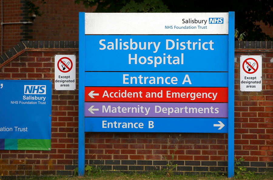 Unclear if crime committed in 'unknown substance' case near Salisbury - UK police