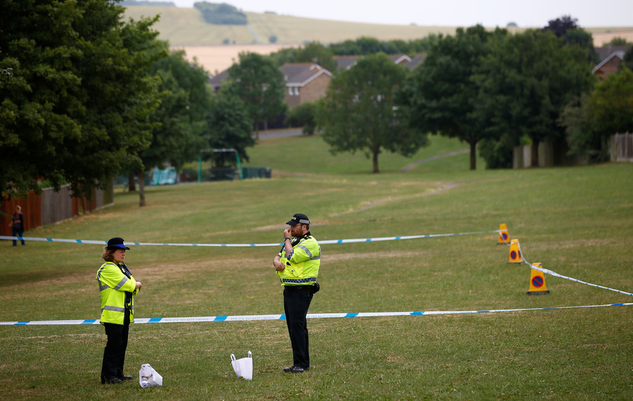 UK police say couple in Wiltshire contaminated with same substance as Skripals