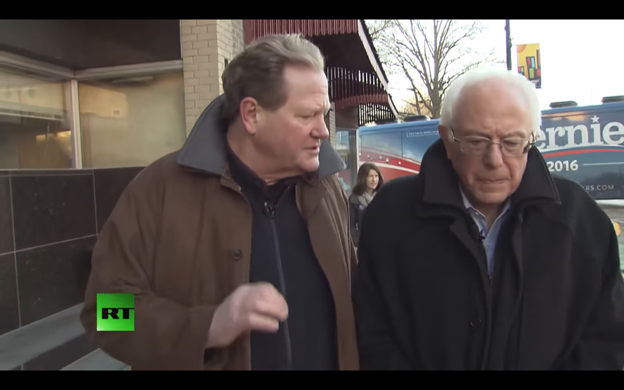 Bernie Sanders pays tribute to 'passionate defender of American workers' Ed Schultz