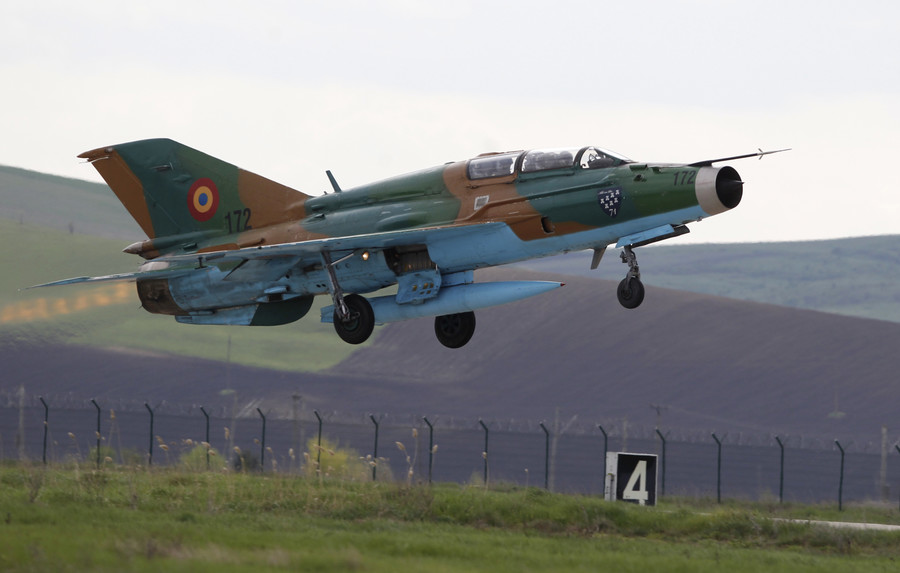 Romanian Air Force jet crashes during air show (PHOTOS, VIDEO)