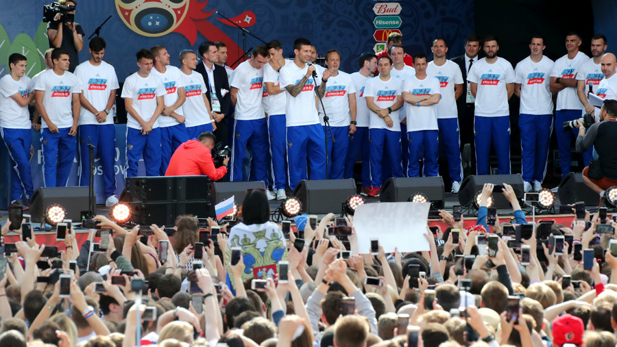 Croatia President wins hearts with her celebratory gesture