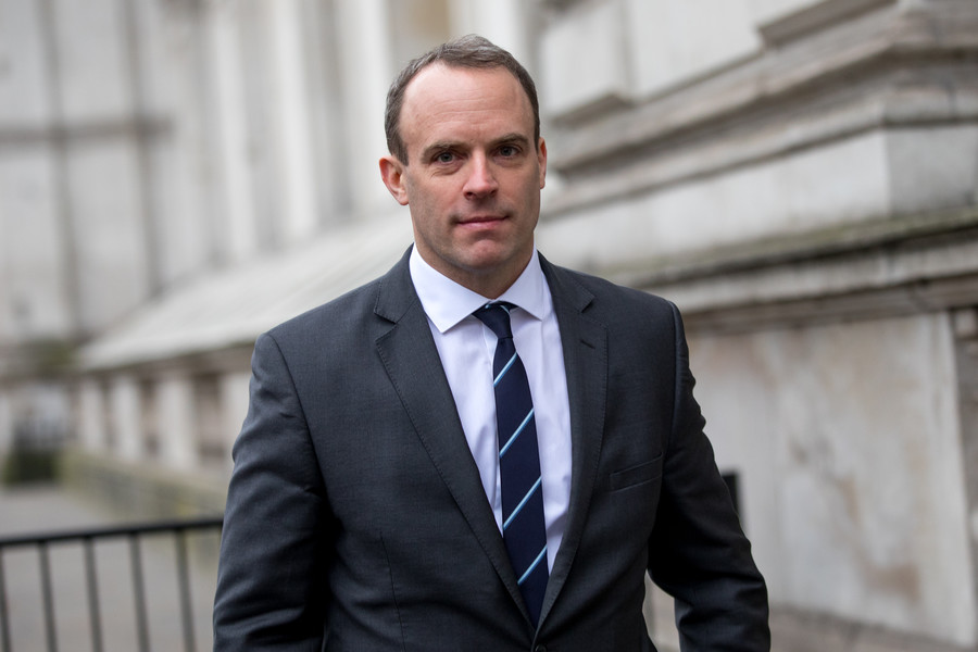 British PM appoints Dominic Raab new Brexit minister