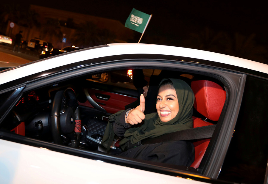 'Habibi I can drive my car': Beatles' classic cover celebrates Saudi women driving