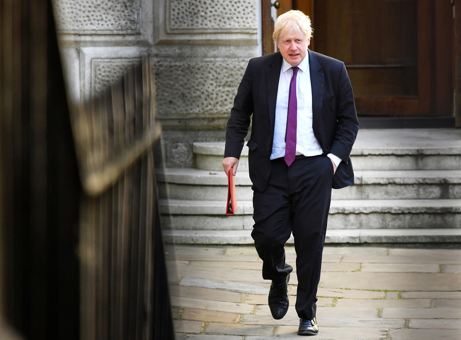 Britain headed for status of 'colony' to EU, Boris Johnson says in resignation statement
