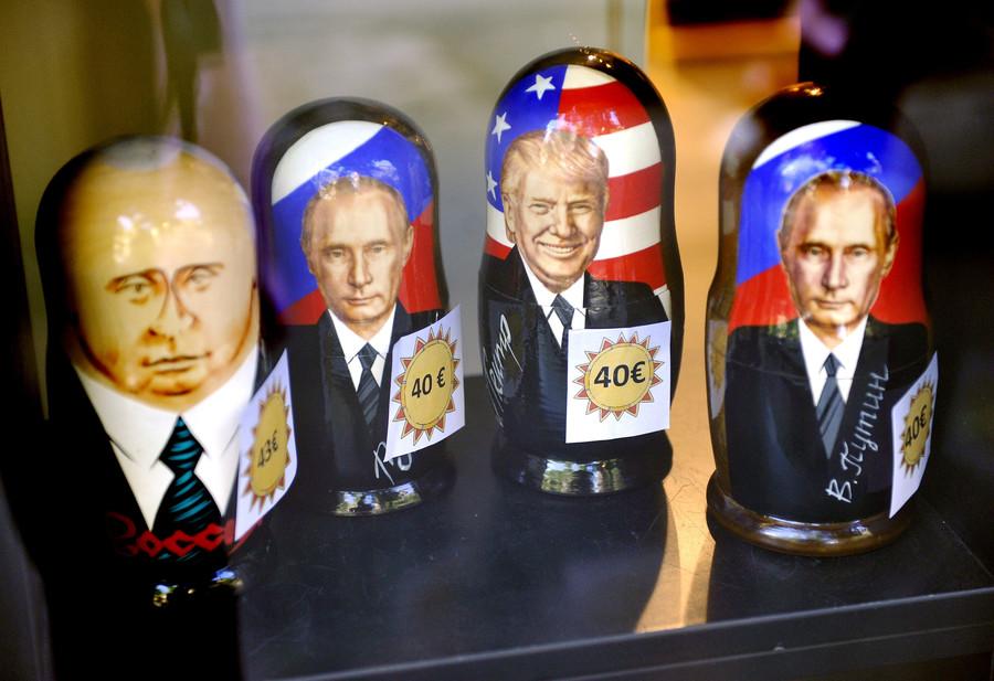 Putin on the Trump: 'New York' dons tinfoil hat, claims Soviet-era kompromat on The Donald