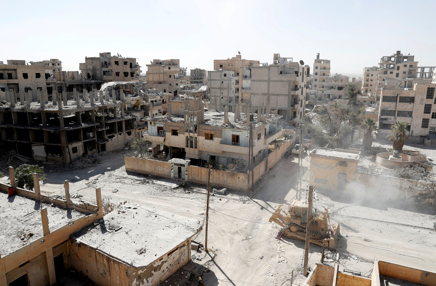 Corpses still rot under Raqqa rubble after US-backed liberation – but West nowhere to be seen