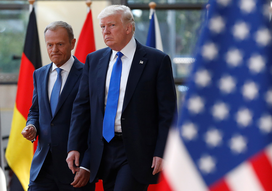'Appreciate your allies, you don't have many' – EU Council President Tusk to Trump