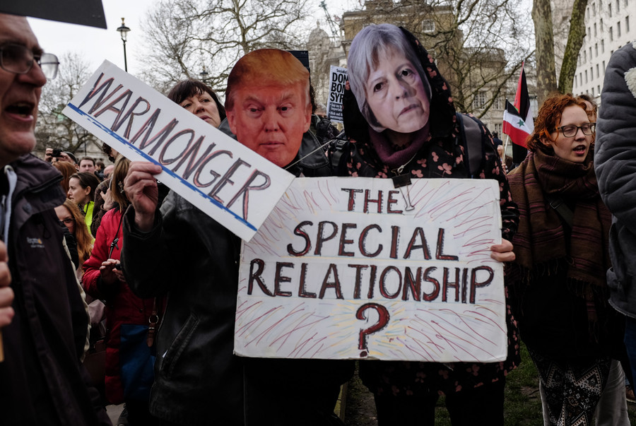 'Keep low profile' – US Embassy warns citizens ahead of Trump UK visit protests