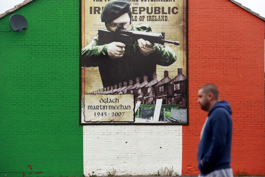Cathal Mc Naughton  Reuters