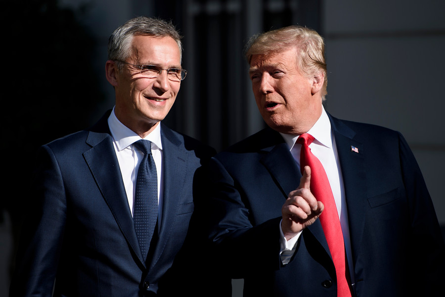 NATO summit day 1: Divided alliance unites against Russia, as US demands immediate contributions