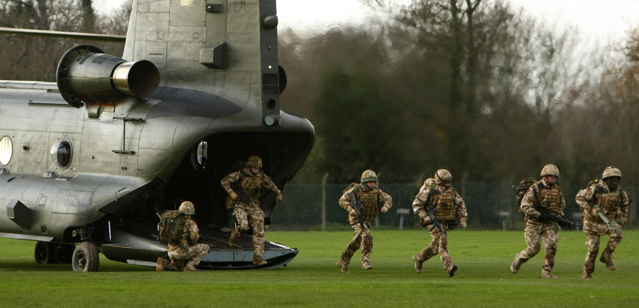 UK commits troops to its biggest Afghan surge since 2014 'pullout'
