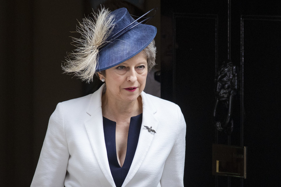 'Verging on criminal': Fury at Telegraph article suggesting PM Theresa May guilty of treason