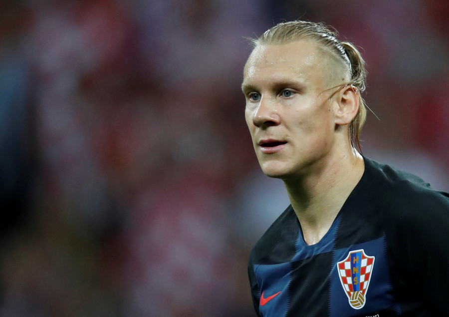Croatian defender Vida booed at every touch during semi-final after Ukraine comments