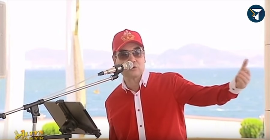 President's rap: Turkmen strongman & grandson drop some beats (VIDEO)