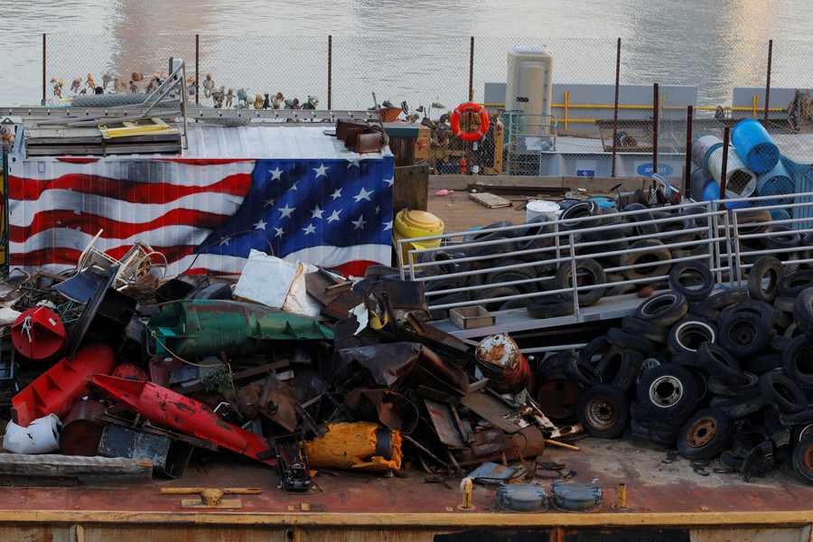 Trash wars: US drowning in its own waste, blaming China for rejecting 'recycled commodities'