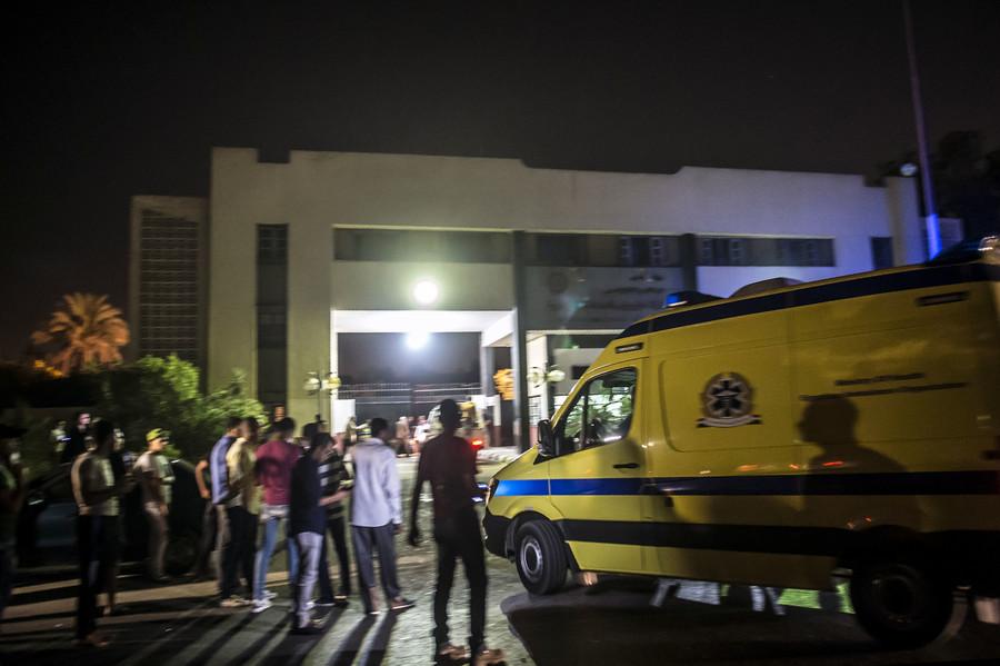 12 injured in 'fuel storage' blast near Cairo airport (PHOTOS, VIDEO)