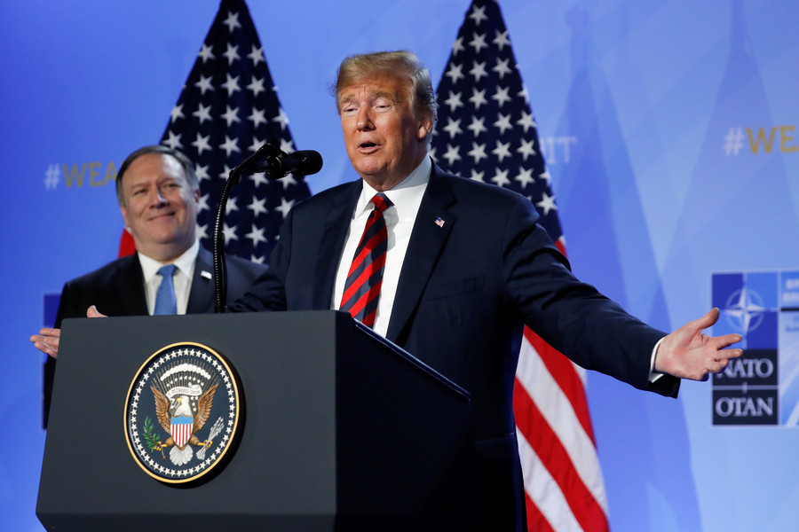 Trump ruffles allies' feathers with indelicate statecraft during European tour