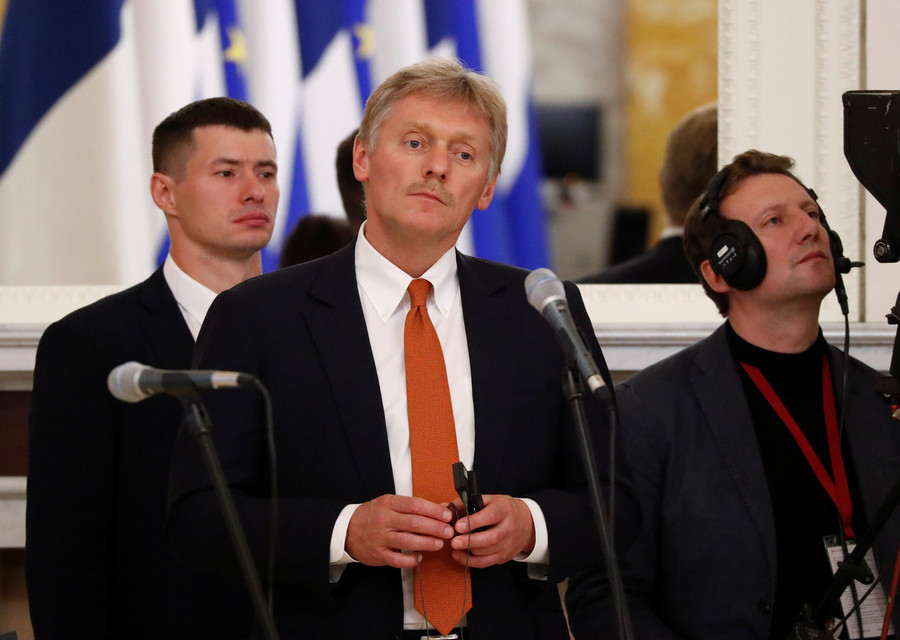 Dmitry Peskov news