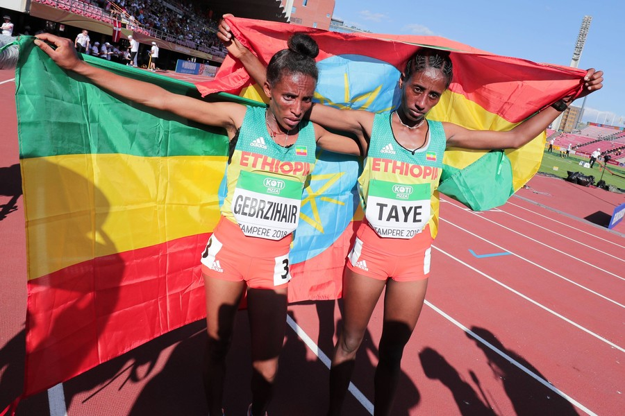 Ethiopian runner Gebrzihair mocked by internet users claiming she isn't 16-year-old teenager