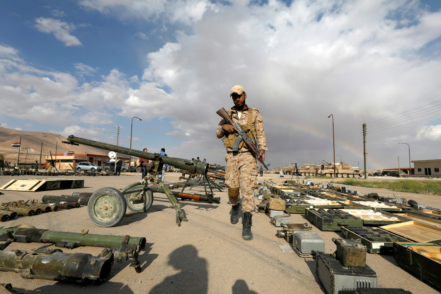 Stockpiles of surrendered Western arms in Syria a sign of 'gross interference' - Russia